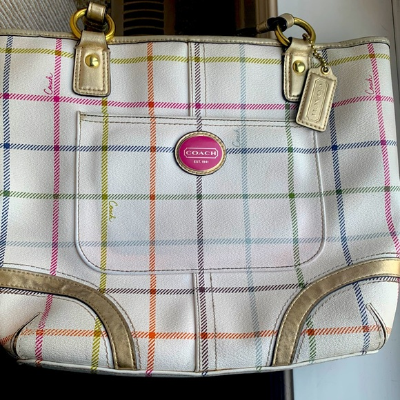 Authentic Coach Heritage Tattersall